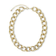 Nicki Minaj Women's Chunky Chain Necklace - Rhinestones at Kmart.com