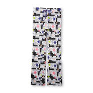 Joe Boxer Women's Knit Pajama Pants - Crossword Puzzle at Kmart.com