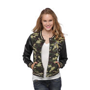 Southpole Junior's Varsity Letter Jacket - Camouflage at Sears.com