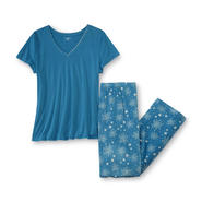 Jaclyn Smith Women's Pajama Top & Pants - Stars at Kmart.com