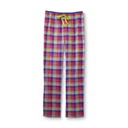 Joe Boxer Women's Flannel Sleep Pants - Pastel Plaid at Kmart.com