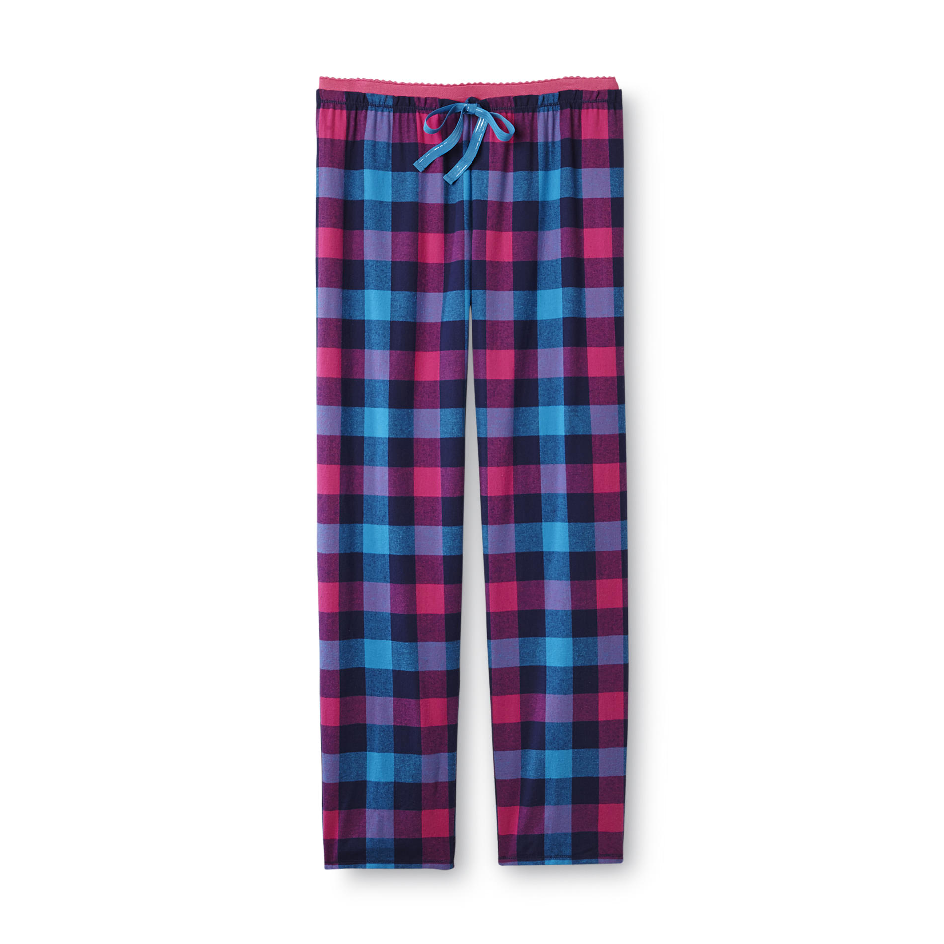 Joe Boxer Women's Flannel Sleep Pants - Blue Plaid at Kmart.com