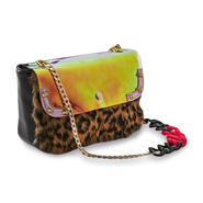 Nicki Minaj Women's Chain Pouchette Handbag - Mixed Media at Kmart.com