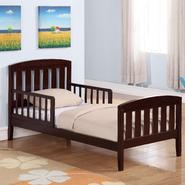 Dorel Asia Square Espresso Toddler Bed at Sears.com