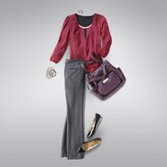 Burgundy Bliss Outfit at Sears.com