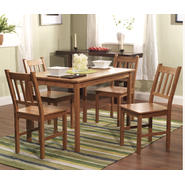 5 pc Bamboo dining set at Kmart.com