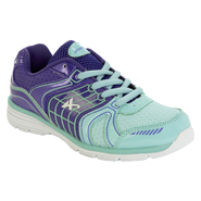 Athletech Girl's Sneaker L-Willow2 - Mint/Purple at Kmart.com
