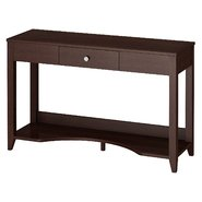 Bush Furniture kathy ireland Office by Bush Furniture Grand Expressions Laptop Sofa Table with Drawer and Storage in Warm Molasses Finish at Sears.com