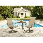 Garden Oasis Long Beach 3pc Bistro Set at Kmart.com