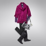 A Pop of Pink Outfit at Sears.com