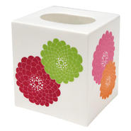 Stella Pink Tissue Box Cover - Big Flowers at Kmart.com