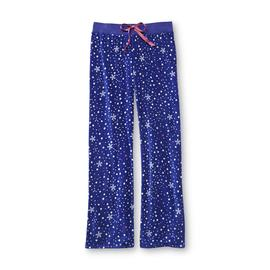 Joe Boxer Women's Microfleece Pajama Pants - Snowflakes at Kmart.com