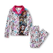 Monster High Girl's Button-Front Pajama Top & Pants at Kmart.com