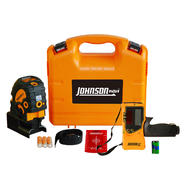 Johnson Level Self-Leveling Combination Cross-Line and 5 Beam Laser Dot Kit at Sears.com