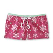 Joe Boxer Women's Pajama Shorts - Snowflake at Kmart.com
