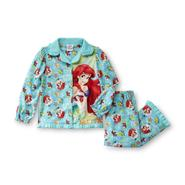 Disney Infant & Toddler Girl's Long Sleeve Pajamas - Ariel/Little Mermaid at Kmart.com