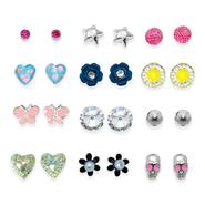 Joe Boxer Junior's 12-Set Stud Earrings - Assorted at Kmart.com