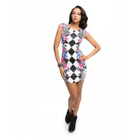 Nicki Minaj Women's Sheath Dress - Harlequin Floral at Kmart.com