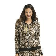 Kardashian Kollection Women's Hoodie Jacket - Leopard Print at Sears.com