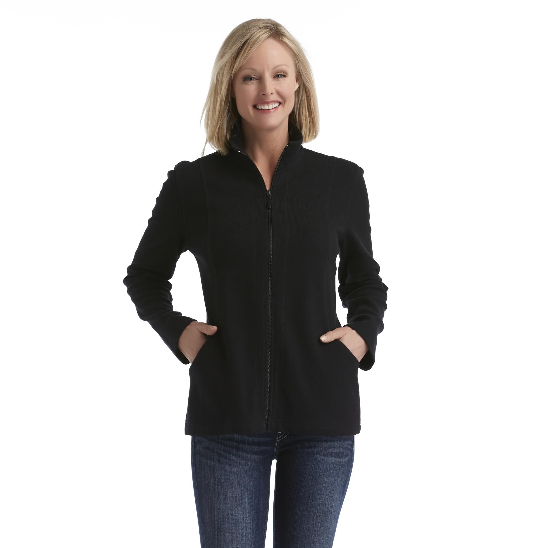 Laura Scott Women's Ribbed Jacket at Sears.com