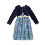Ashley Ann Girl's Party Dress & Jacket - Plaid at Sears.com
