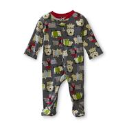 Small Wonders Newborn Boy's Long-Sleeve Sleeper - Dog Print at Kmart.com