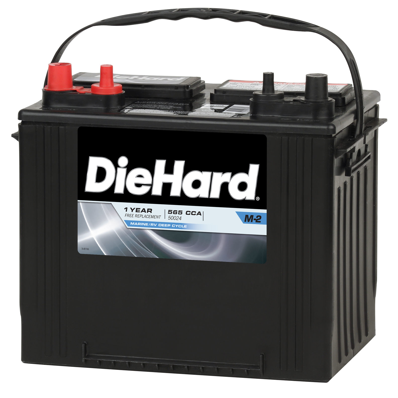 Image of DieHard Marine/RV Battery DP24 - Group Size EP-24M (Price with Exchange)