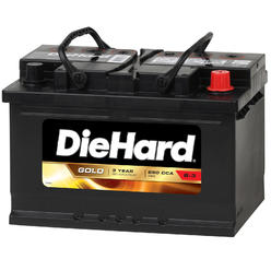 DieHard Gold Automotive Battery - Group Size 40R (Price with Exchange) at Kmart.com