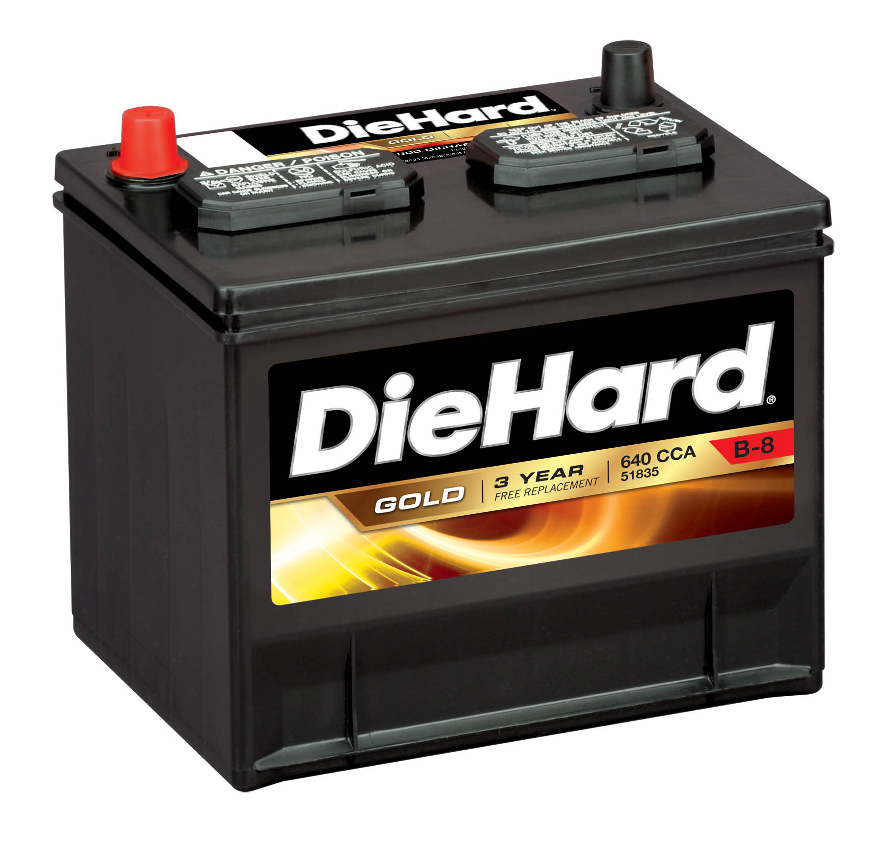 Diehard gold automotive battery group size jc 35 price with exchange