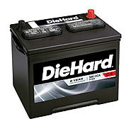 DieHard Automotive Battery- Group Size 24 (Price with Exchange) at Sears.com