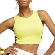 Nicki Minaj Women's Cropped Racerback Tank Top - Colorblock at Kmart.com