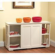 Pacific stackable storage with wood door at Kmart.com