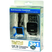 TUNES2GO Car FM Transmitter/MP3 Player/ USB Charger at Kmart.com