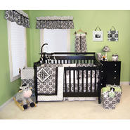 Trend Lab Versailles Black & White - 3 Piece Crib Bedding Set at Kmart.com