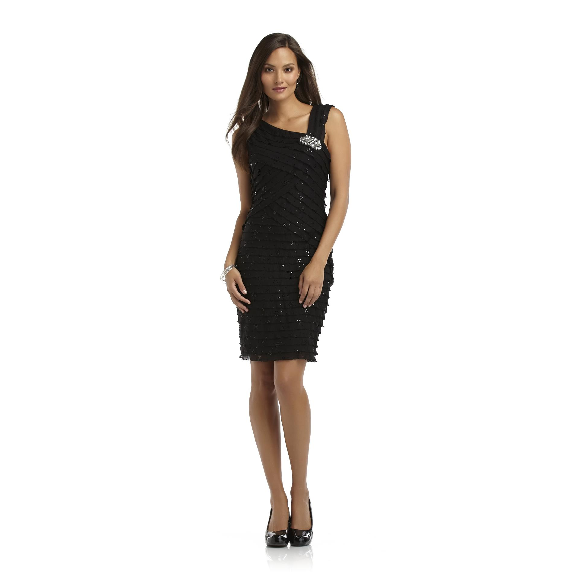 Amanda Lane Women's Sleeveless Sheath Dress at Sears.com