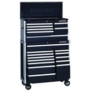 Craftsman EDGE Series 40-Inch 20-Drawer Premium Heavy-Duty Combo - Black at Sears.com