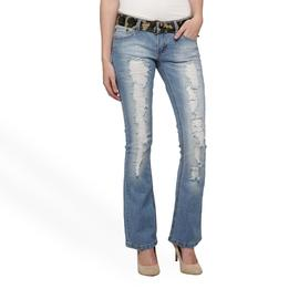 Bongo Junior's Belted Bootcut Jeans at Sears.com
