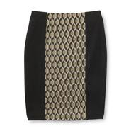 Metaphor Women's Panel Pencil Skirt - Geometric at Sears.com