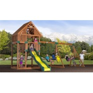Backyard Discovery Quest Cedar Swingset at Kmart.com
