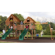 Backyard Discovery Vista Cedar Swingset at Kmart.com