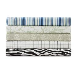 Essential Home 180 Thread Count 4-Piece Sheet Set - Striped at Kmart.com