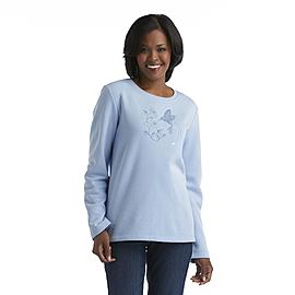 Laura Scott Women's Long-Sleeve Shirt - Hummingbird at Sears.com