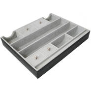 Royce Leather Lexington Suede Lined Organizer Valet at Kmart.com