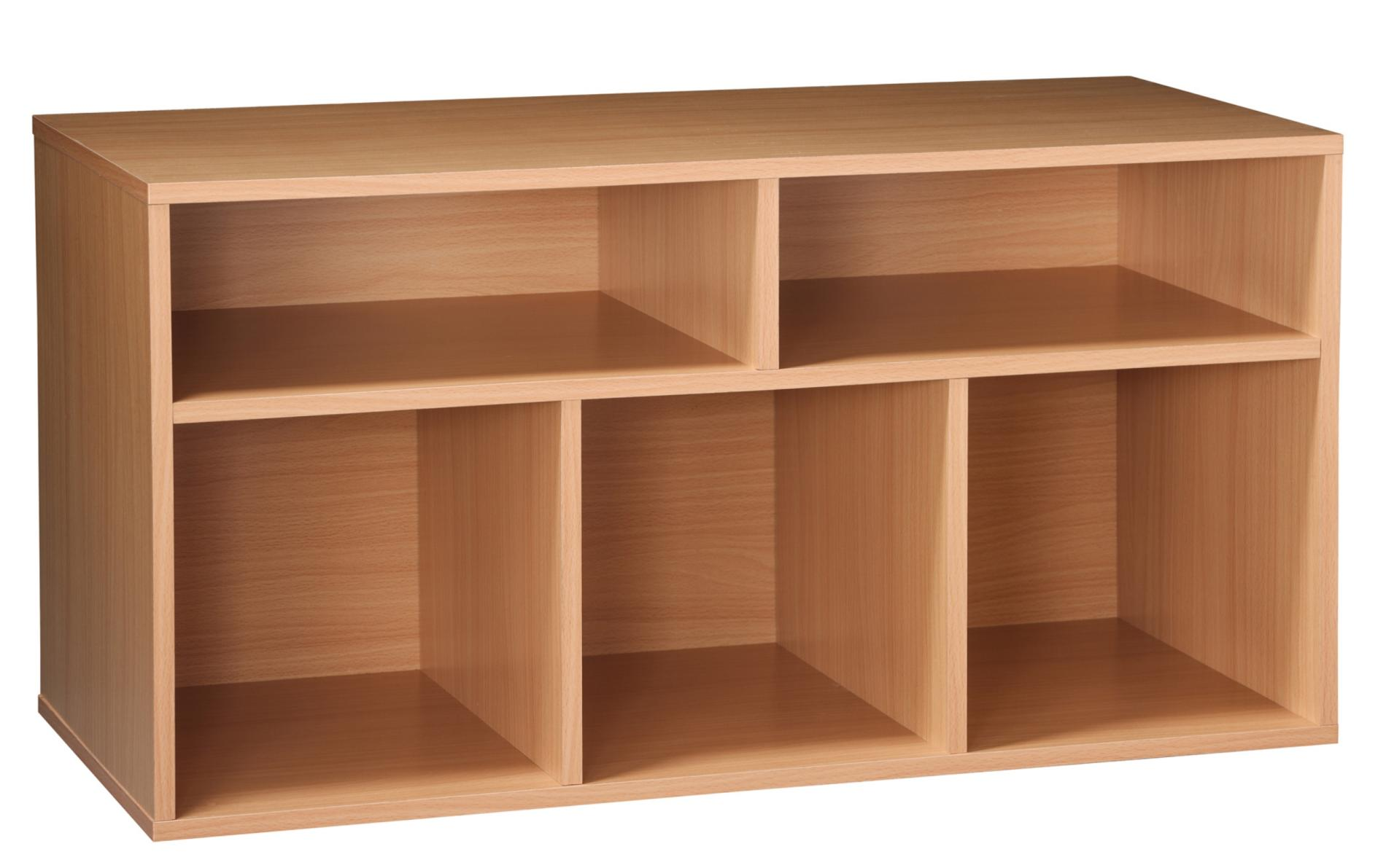 essential home 5 cube storage unit oak finish shop your way online shopping u0026 earn points on tools appliances electronics u0026 more