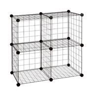 Essential Home 4 Cube Wire Storage Unit Set at Kmart.com