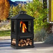 Real Flame Trestle Outdoor Fireplace 43Hx23Wx23D at Sears.com