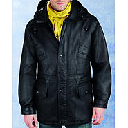 Excelled Men's Leather Parka - Online Exclusive at Kmart.com