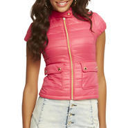 Nicki Minaj Women's Puffer Jacket - Short Sleeves at Kmart.com