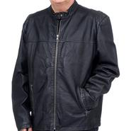 Excelled Men's Washed Leather Nappa Moto Jacket - Online Exclusive at Kmart.com