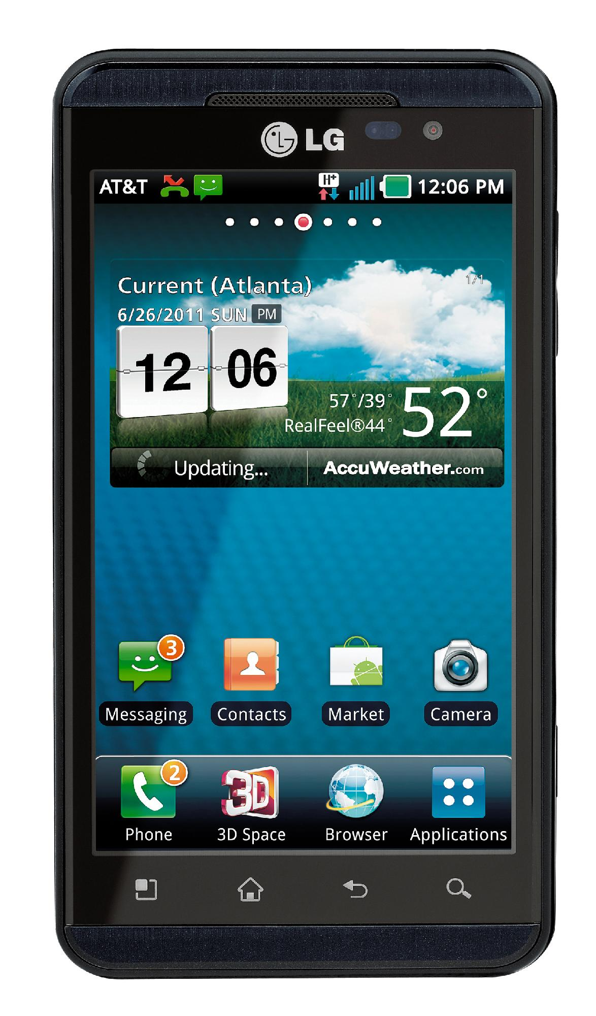 LG  Thrill 4G P925 Unlocked GSM Android